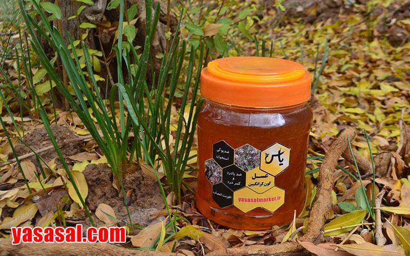 عسل طبیعی گون گز